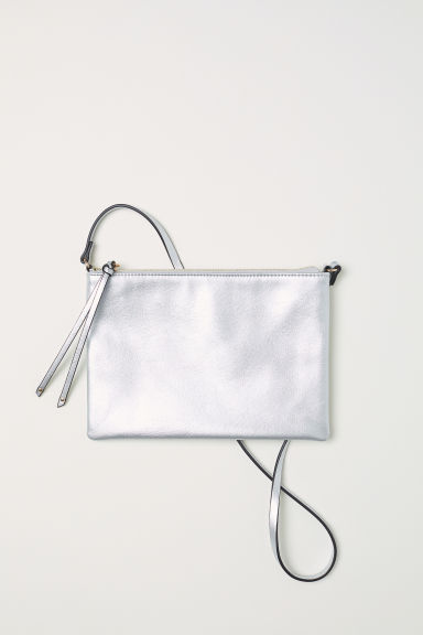 Small shoulder bag - Silver-coloured - Ladies | H&M GB
