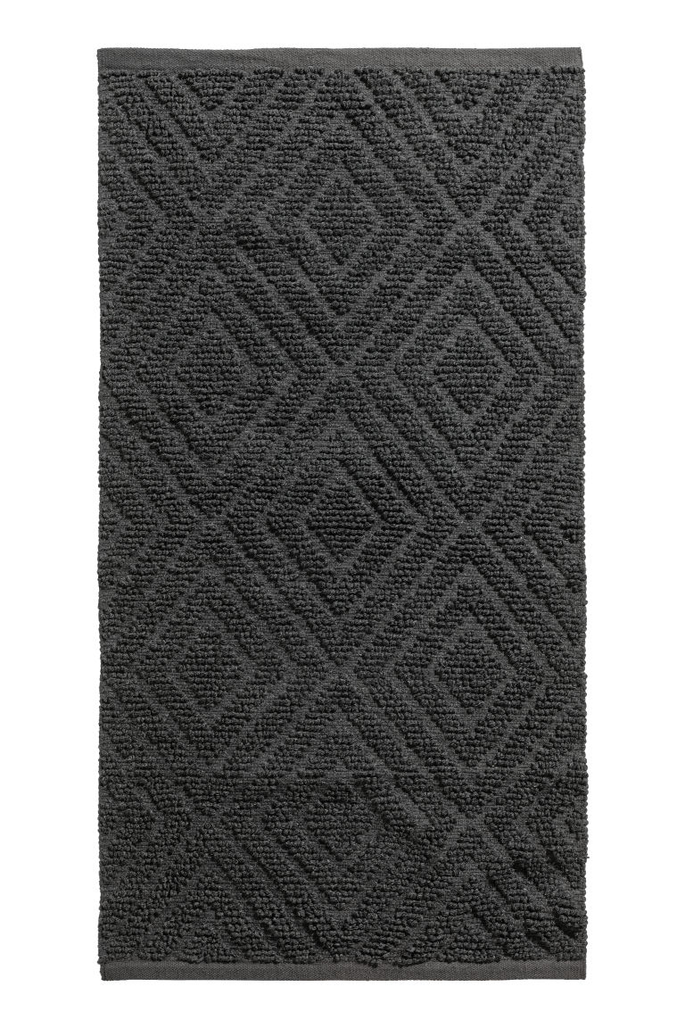 Wool-blend rug - Anthracite grey - Home All | H&M IE