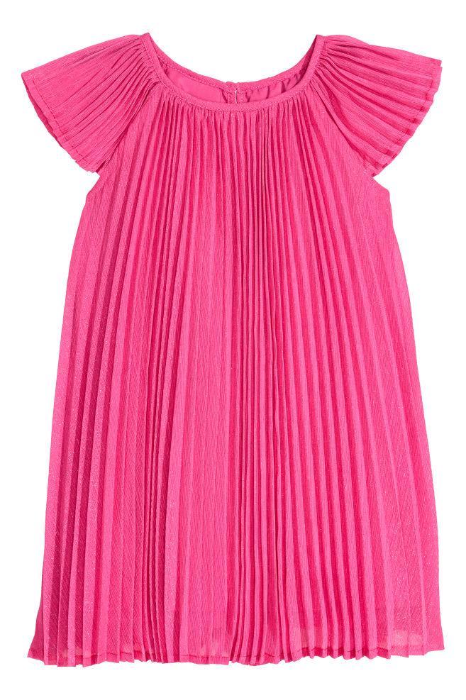 4b397d9282 Plisowana sukienka - Wiśniowy - Dziecko