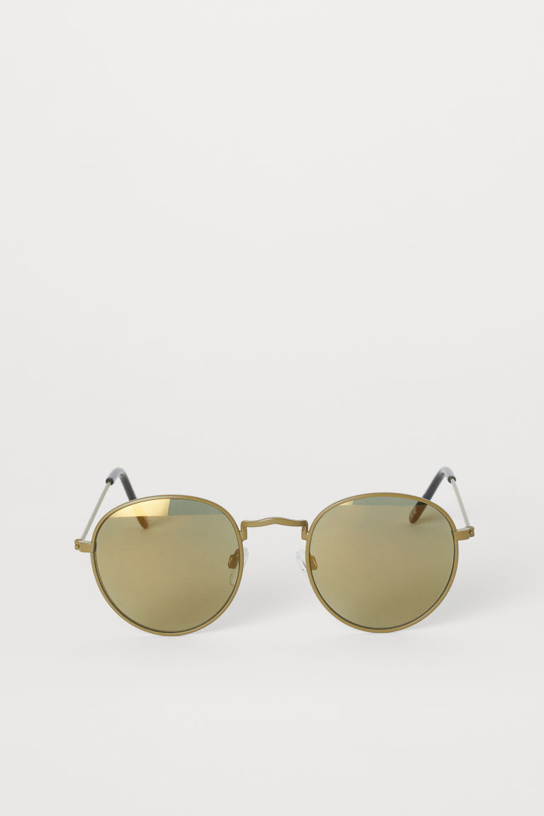 Sunglasses - Khaki green - Men | H&M US