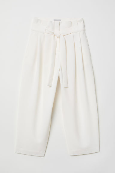 Weite Hose - Weiß - Ladies | H&M AT