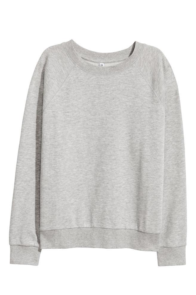 Sweatshirt Graumeliert Ladies Hm De