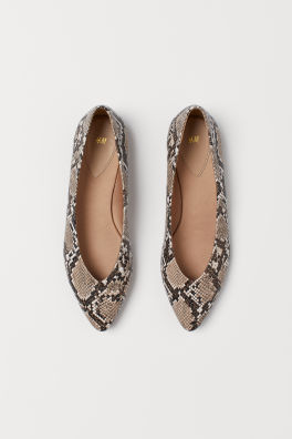d56b820125c74 Ballet Flats & Loafers For Women | Flat Shoes | H&M US