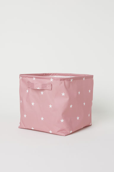 Storage box - Dusky pink/Stars - Home All | H&M CN