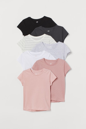 7-pack T-shirts