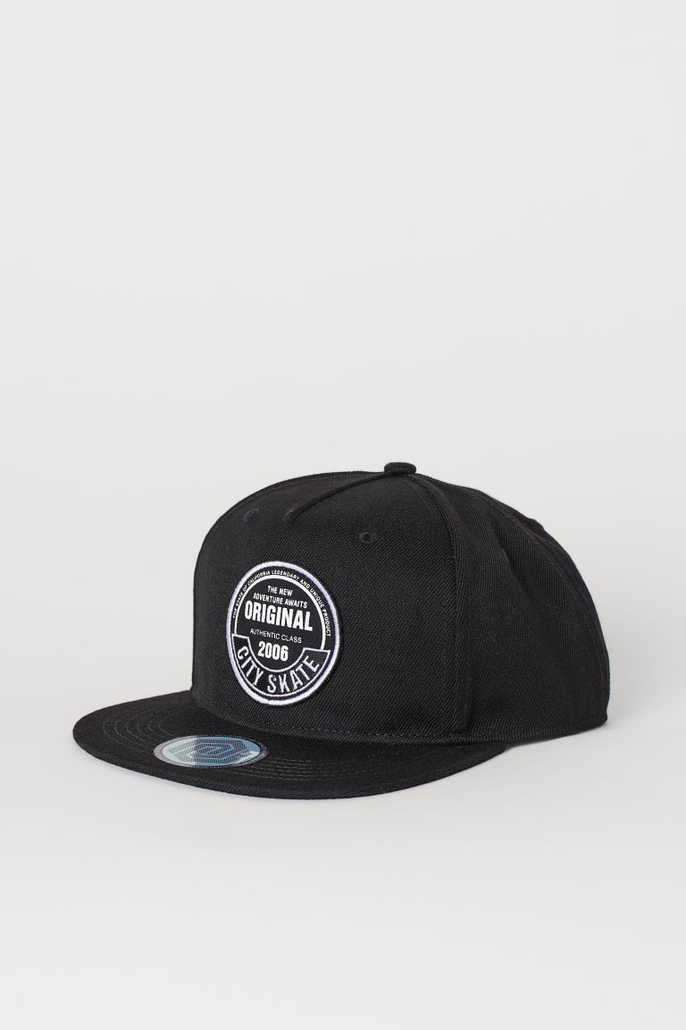Twill cap - Black/Original - Kids | H&M