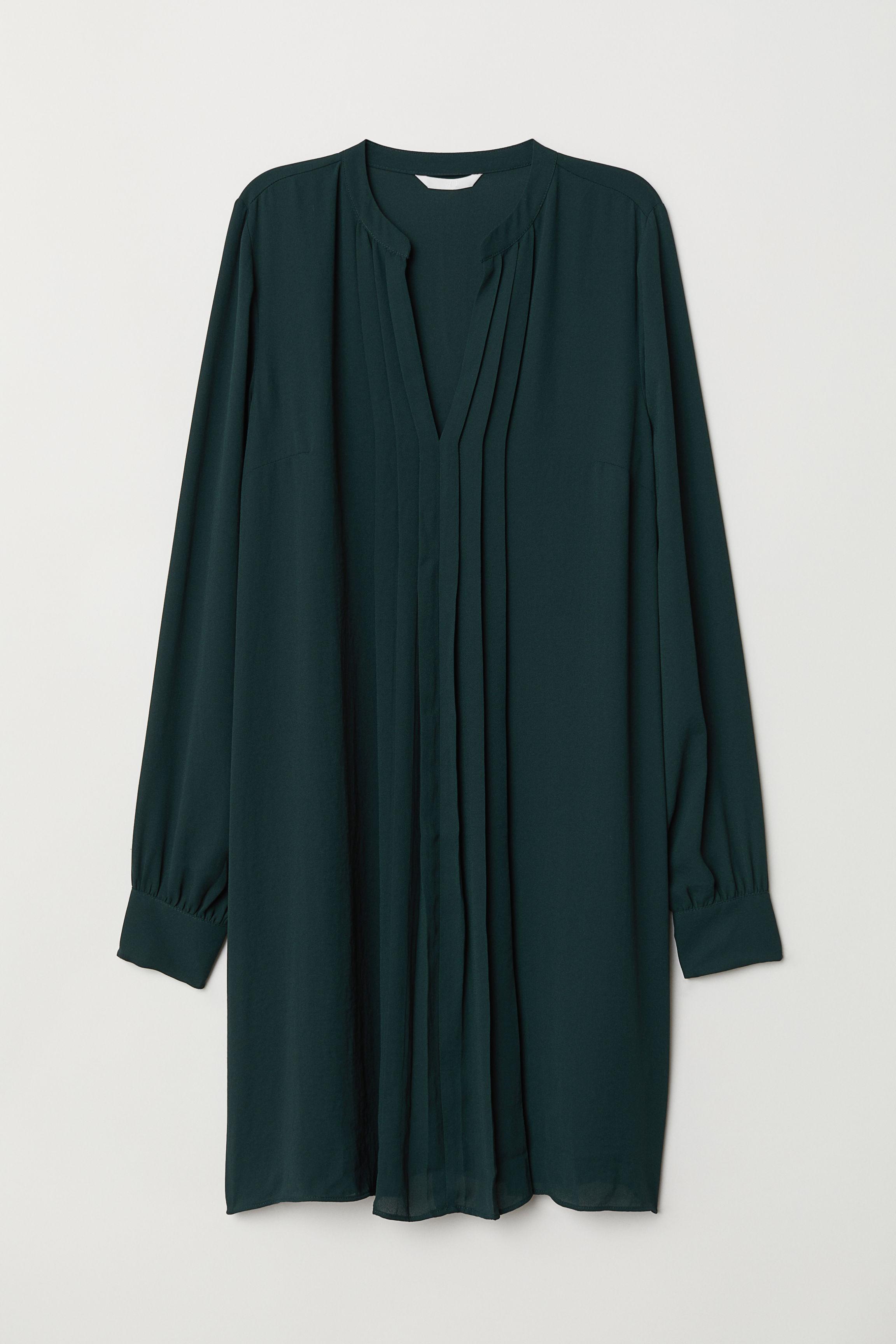 ea3c31b721 Plisowana sukienka - Ciemnoszary - ONA
