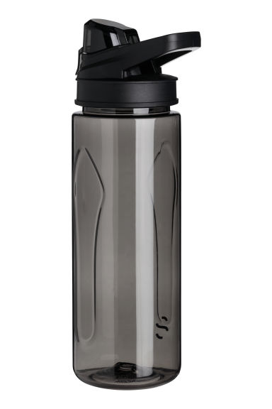 Water bottle with a lid - Black - Men | H&M IE
