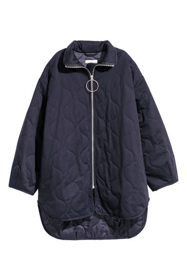 Oversized jacket - Dark blue -  | H&M CN