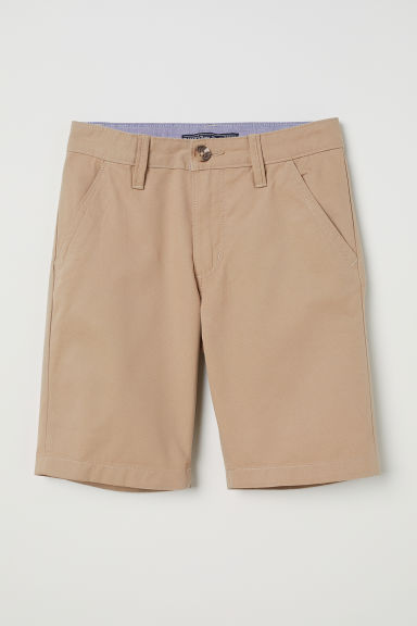 Chino shorts - Beige - Kids | H&M CN