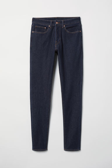 Skinny Jeans - Blu denim scuro - UOMO | H&M IT
