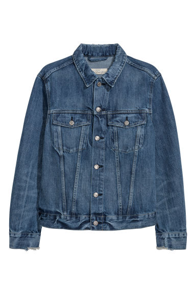Jeansjas - Denimblauw - HEREN | H&M BE
