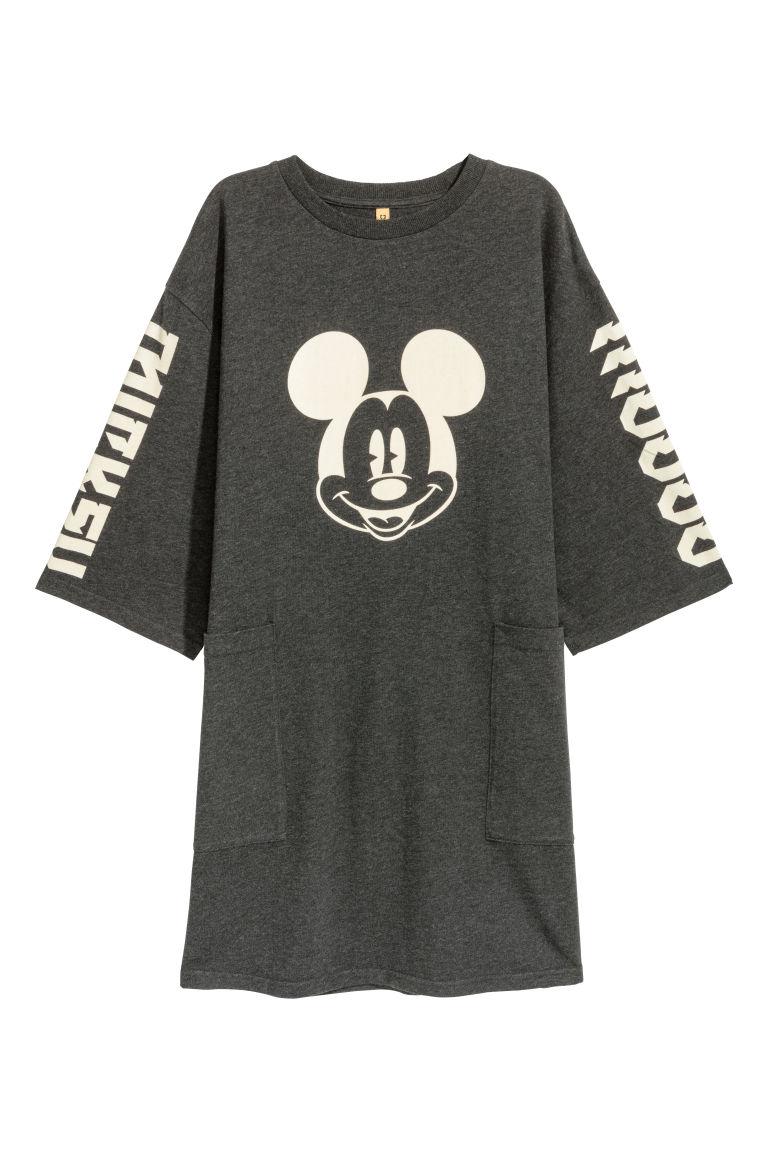 sehen attraktiver Preis Beste Printed T-shirt dress