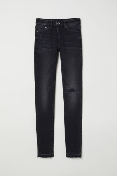 Shaping Skinny Regular Jeans - 黑色 -  | H&M CN