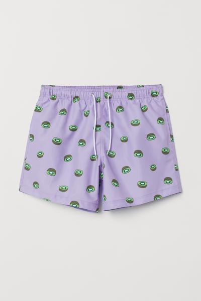 H&M - Printed swim shorts - 4