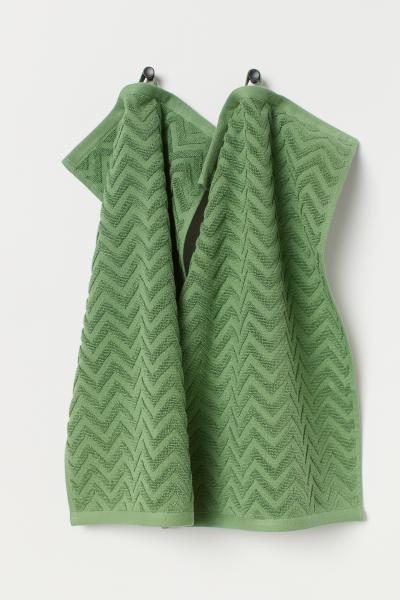 H&M - 2-pack guest towels - 1