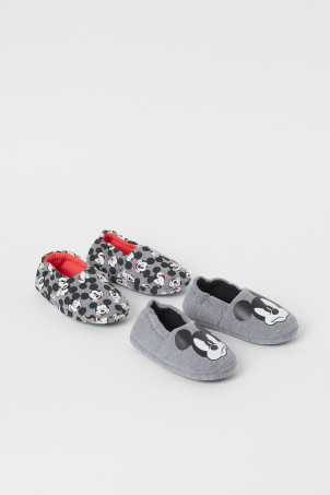 2-pack Soft Slippers