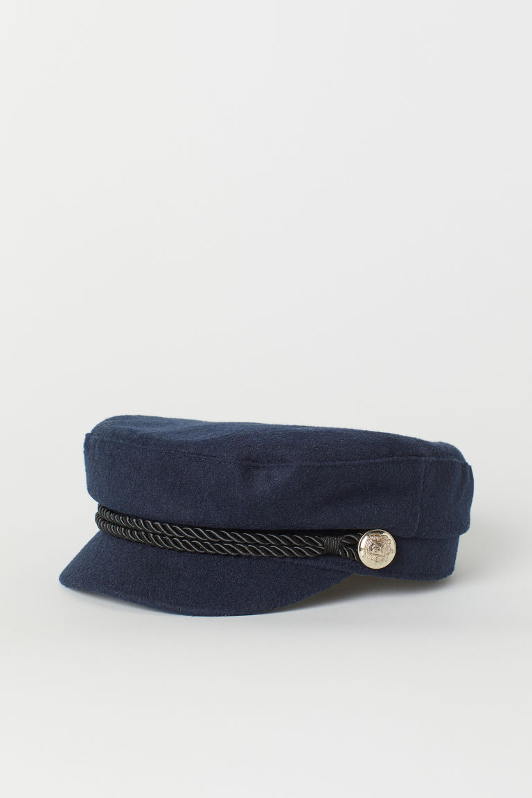 Captain's cap - Dark blue -  | H&M GB