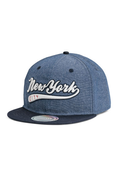 Cap - Dark blue marl - Kids | H&M