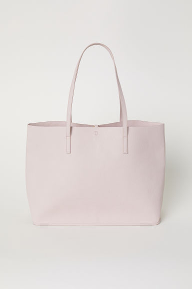 Reversible shopper - Dusky pink - Ladies | H&M GB