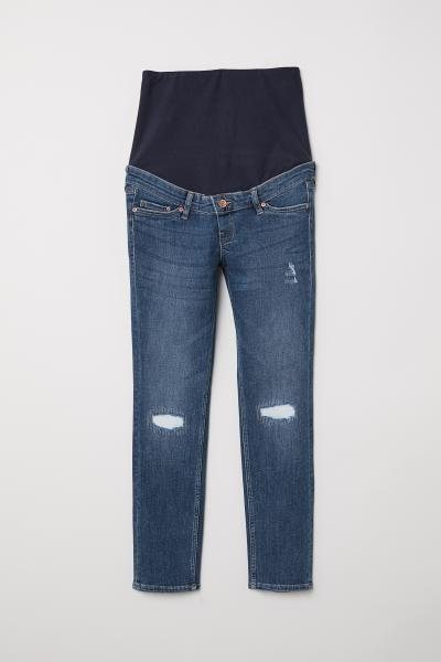 H&M - MAMA Skinny Ankle Jeans - 1