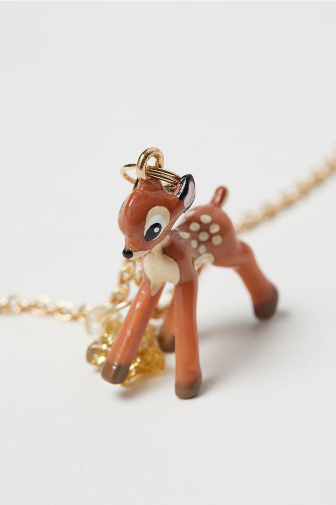Halsband med hänge - Guld/Bambi - BARN | H&M SE 2