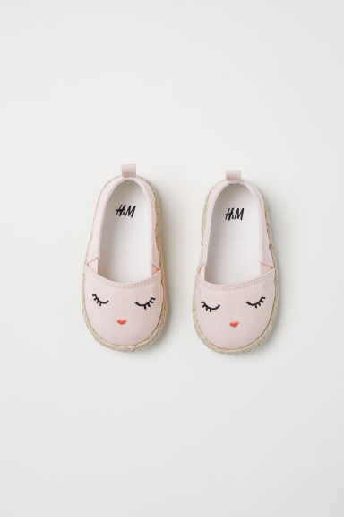 Espadrilles - Light pink -  | H&M