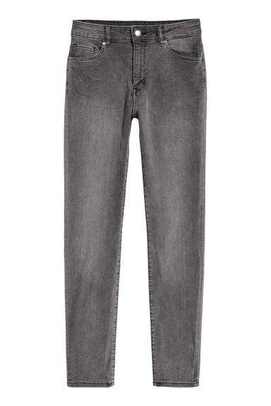 Skinny Regular Jeans - Grey -  | H&M