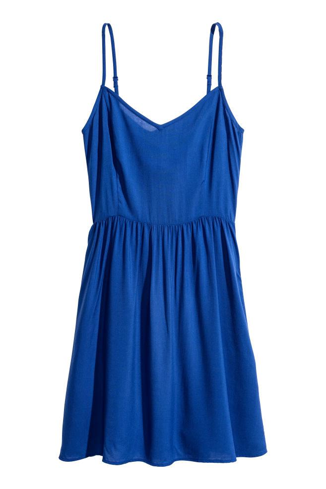 Lyhyt mekko - Sininen - NAISET  5c6e31afc7