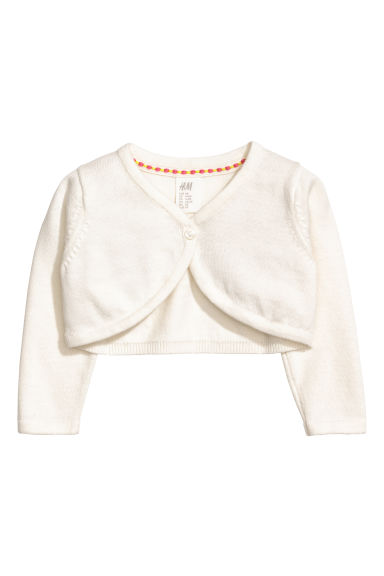 Cotton bolero - Natural white - Kids | H&M