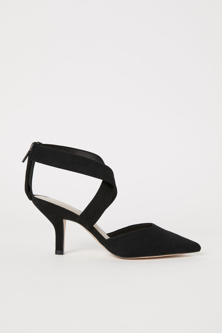 Court shoes with straps - Black - Ladies | H&M