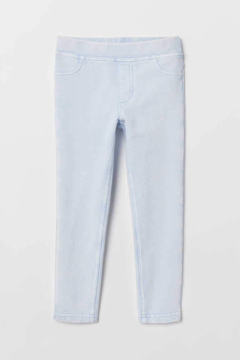 Treggings - Light blue washed out -  | H&M CN