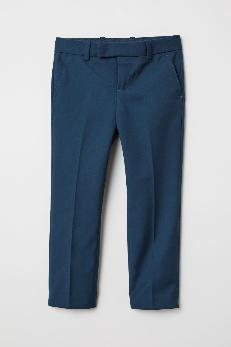 Suit trousers - Dark blue - Kids | H&M