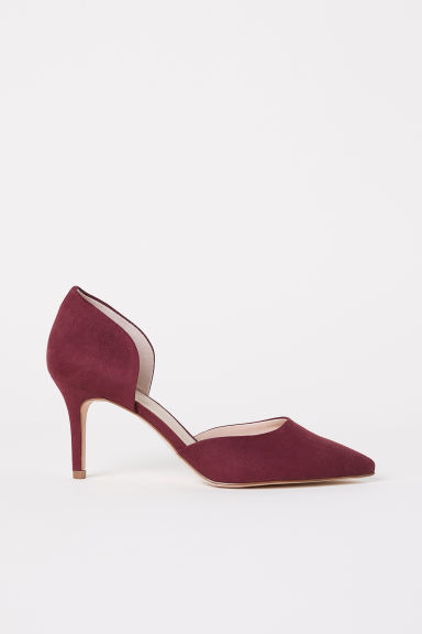 Court shoes - Burgundy - Ladies | H&M