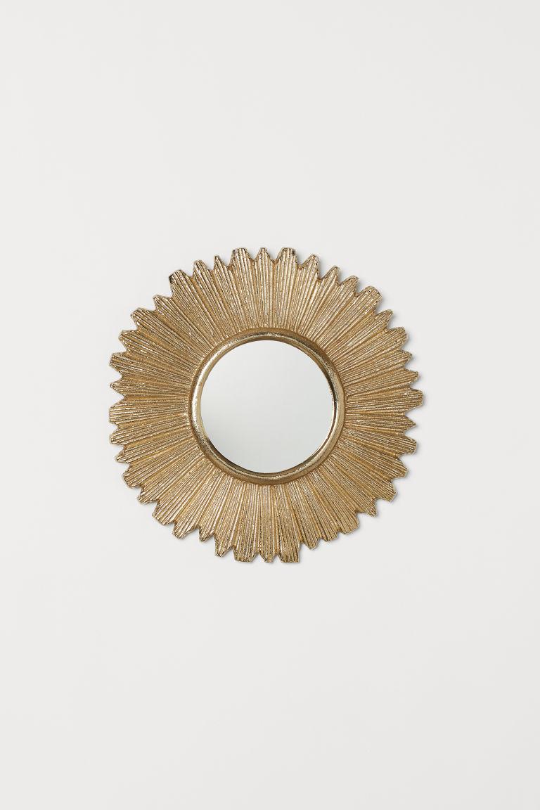 Small Metal Framed Mirror