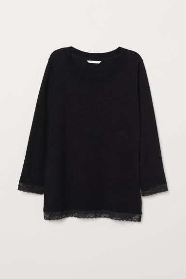 MAMA Nursing jumper - Black - Ladies | H&M CN