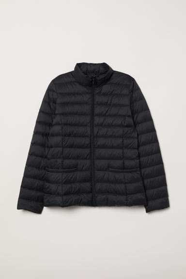 Lightweight Down Jacket - Black - Ladies | H&M US