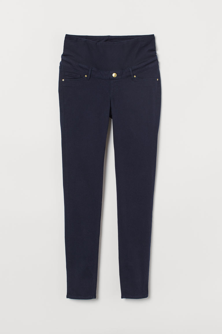 MAMA Super Slim-fit Pants - Dark blue - Ladies | H&M US