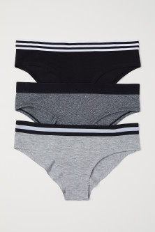 3-pack Cotton-blend Briefs
