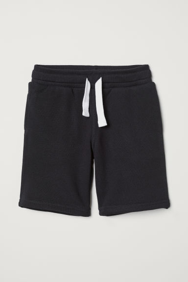Sweatshirt shorts - Black - Kids | H&M GB