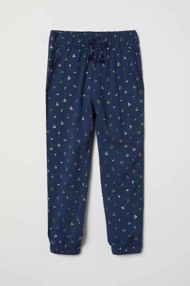 Pantaloni pull-on fantasia - Blu - BAMBINO | H&M IT