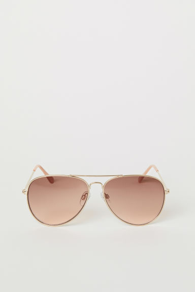 Sunglasses - Copper-coloured - Ladies | H&M CN