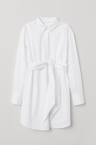 H&M - MAMA Tunic with a tie belt - 5