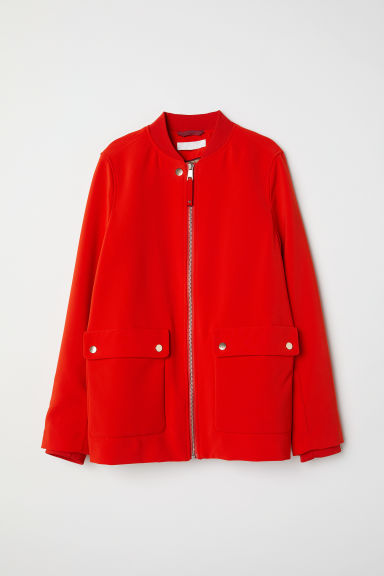 Jacket - Bright red -  | H&M