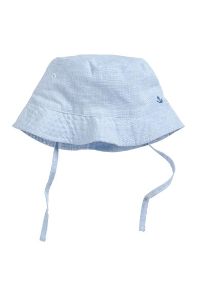 Fisherman's hat - Light blue -  | H&M