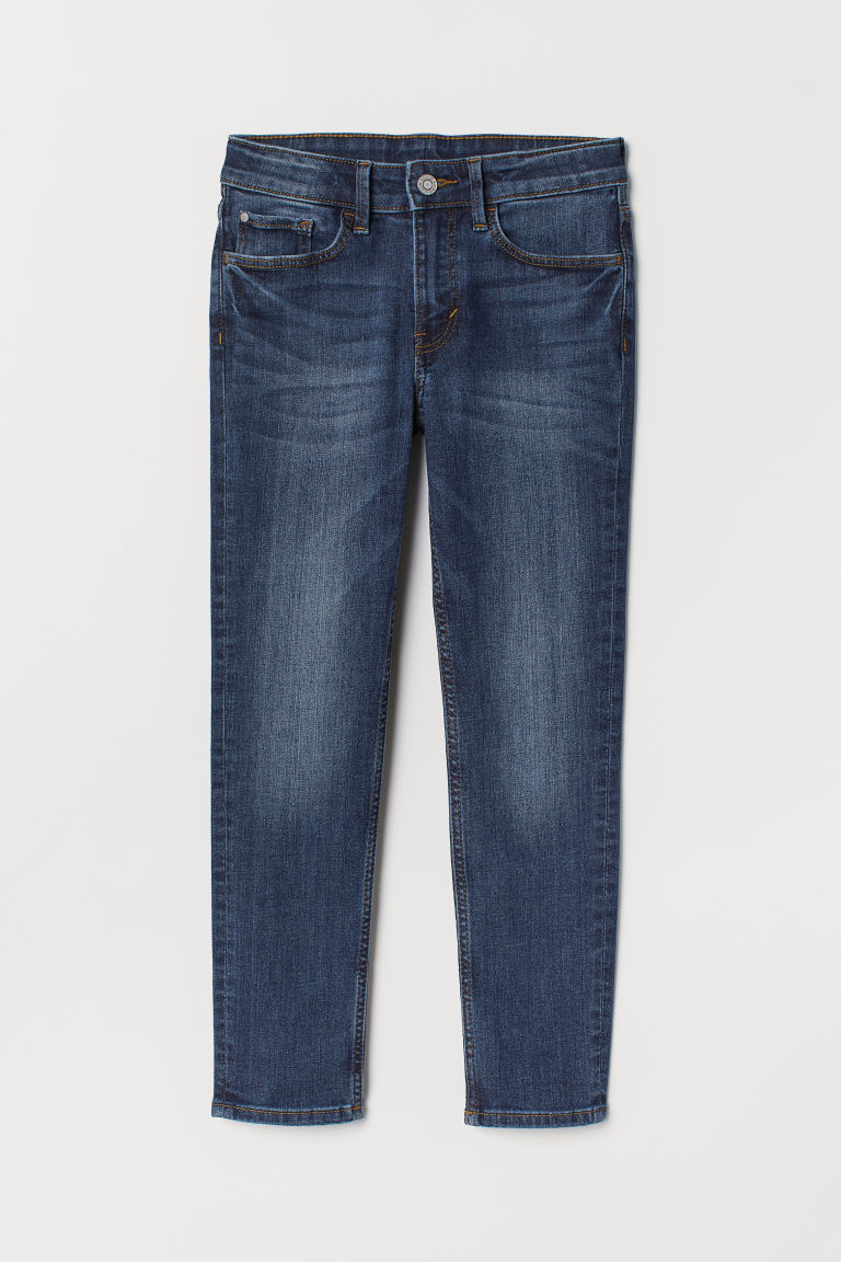 Skinny Fit Jeans - Mørk denimblå - BARN | H&M NO