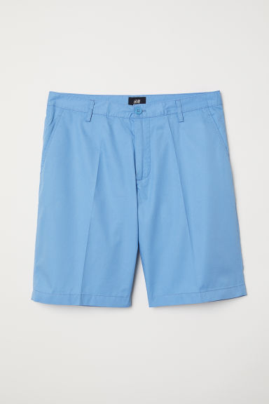 Chinoshort - Lichtblauw - HEREN | H&M BE