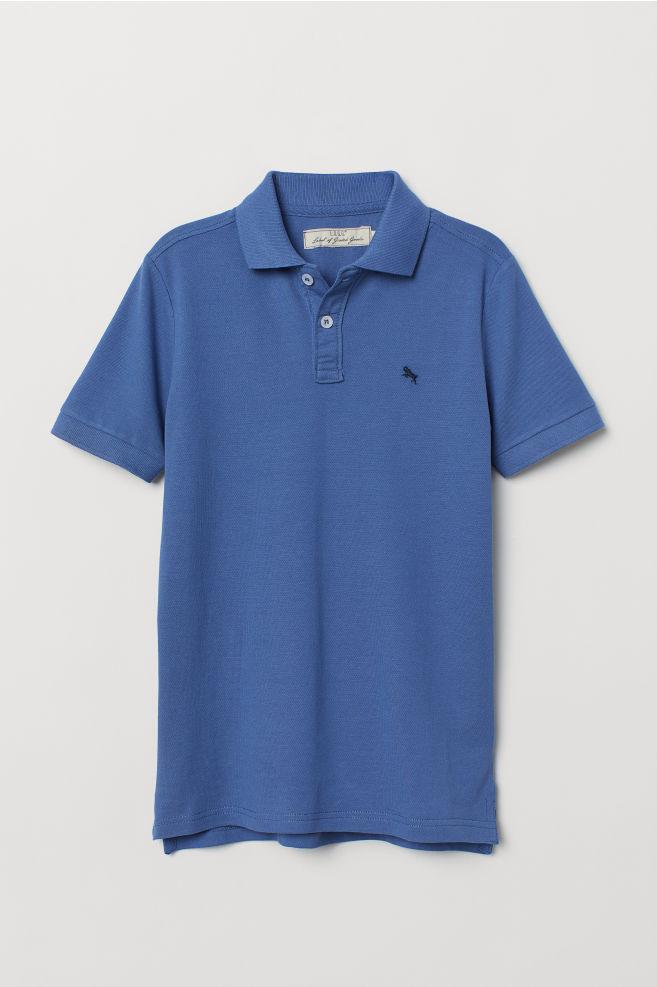 d308ce5c Polo Shirt - Blue - Kids | H&M ...