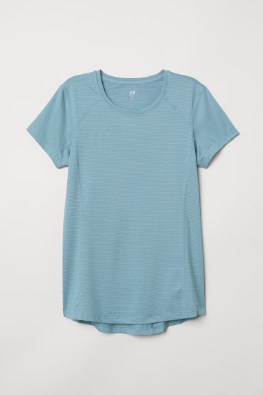 Sports top - Turquoise - Ladies | H&M