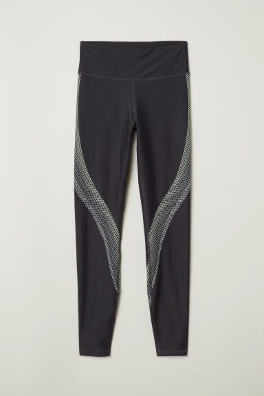 Leggings sportivi - Grigio scuro - DONNA | H&M IT
